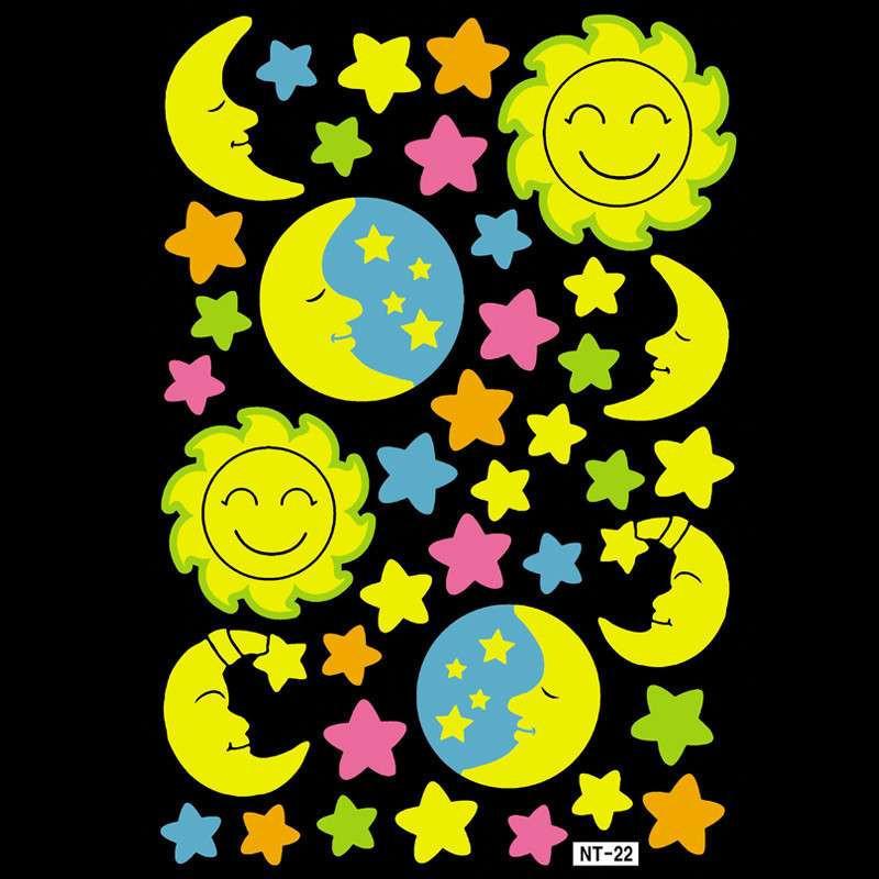 韩国卡通月亮星星素材