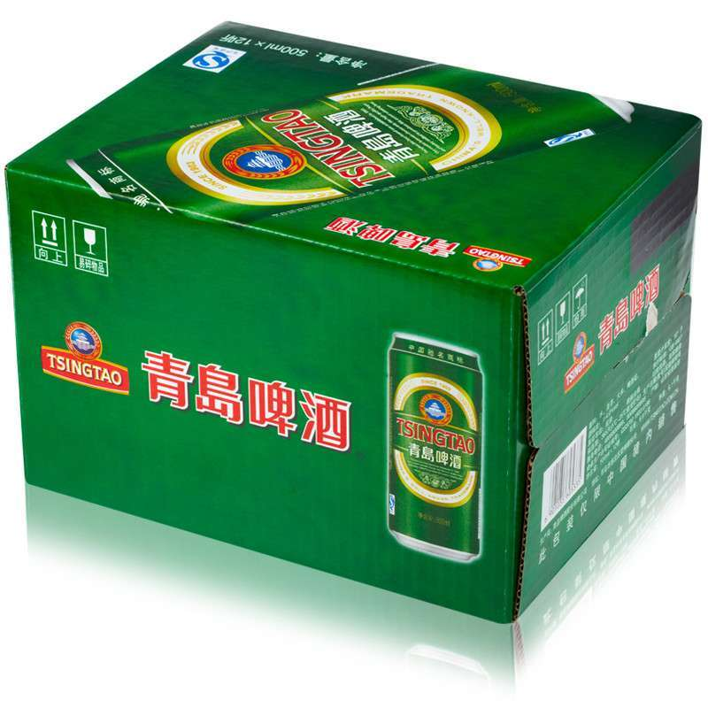 【青岛啤酒恒德莱】青岛啤酒经典10度500ml*12听