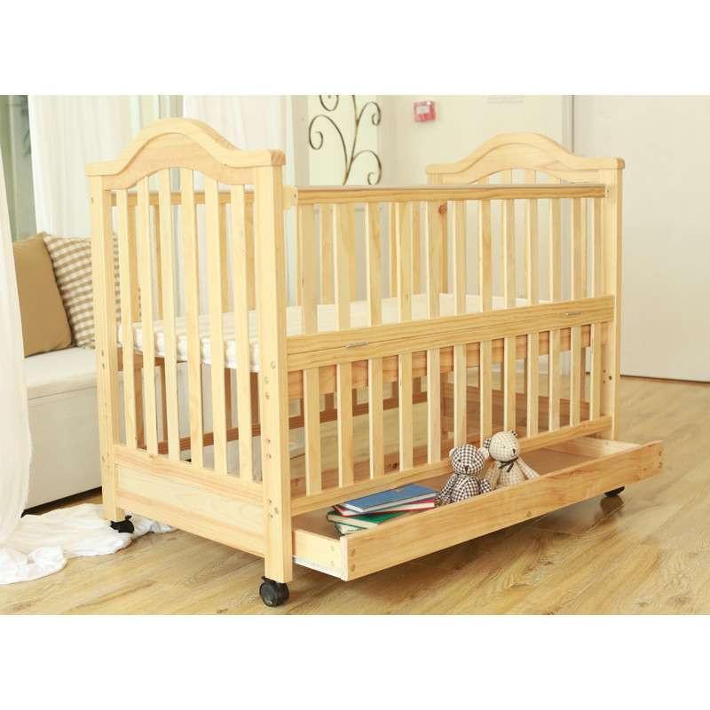 友贝(yoobay)欧式实木婴儿床