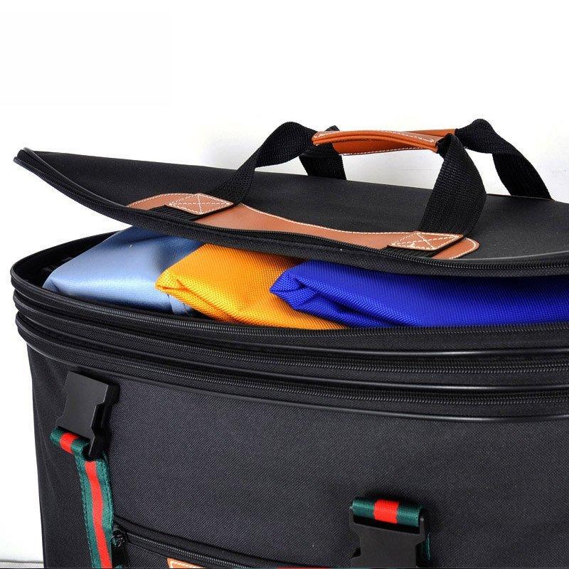 韩国inanna出国超大行李箱航空托运包万向轮防水牛津