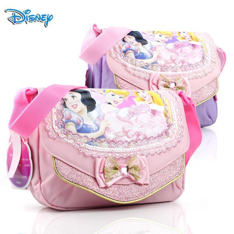 迪士尼女童包包可爱公主斜挎包宝宝小包韩版幼儿园女孩手拎包韩国