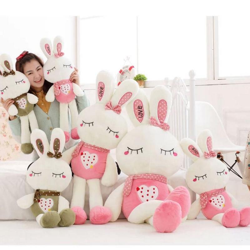 1米可爱大号米菲兔子小白兔公仔毛绒玩具布娃娃生日礼物love兔儿童
