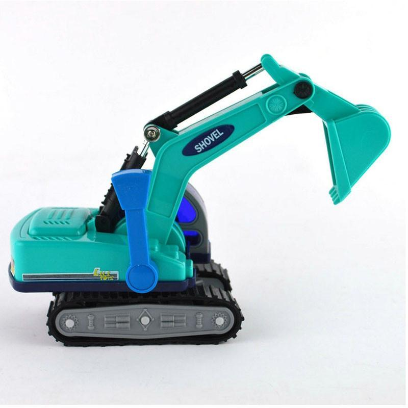 工程车系列儿童玩具32501小型手动挖土机
