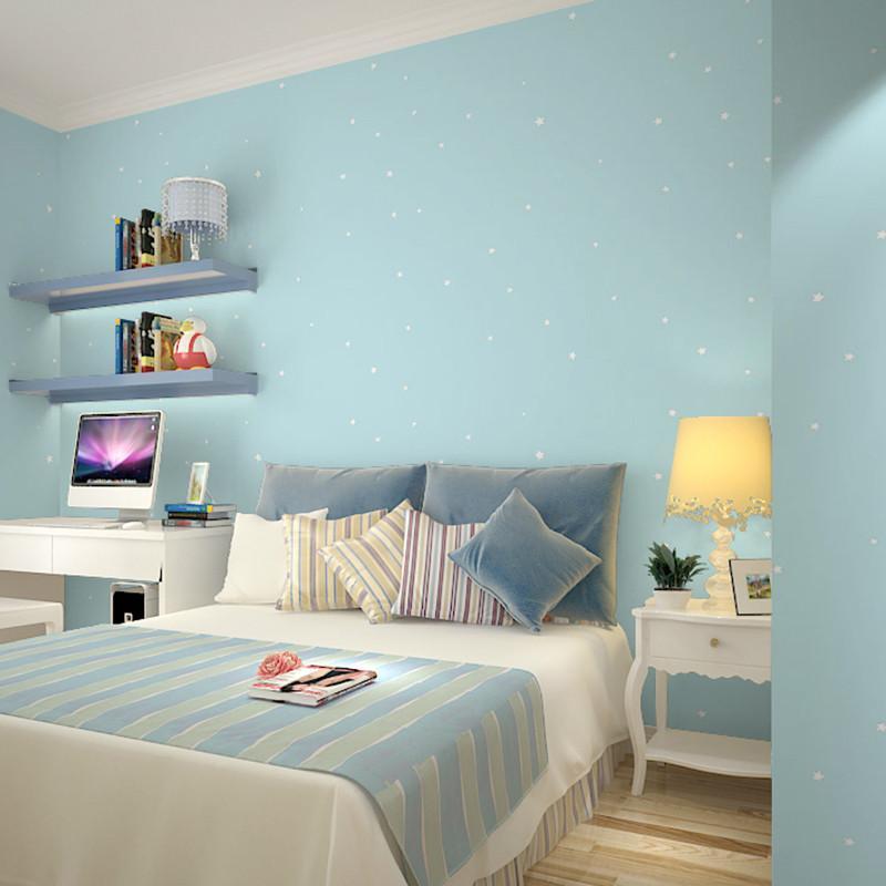 男青年房间欧式墙纸图片