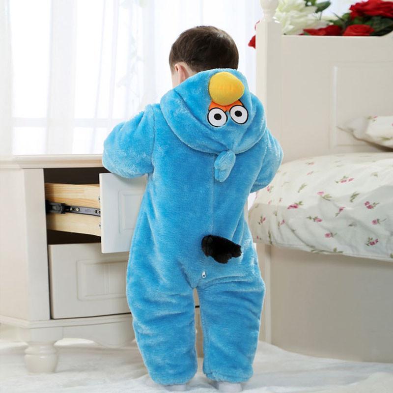 2014新款宝宝小鸟哈衣婴儿动物造型连体衣童装男女