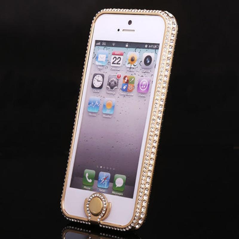 iphone5水晶钻石框手机壳