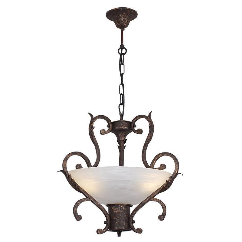 欧式单头吊灯简欧铁艺餐厅过道卧室灯具阳台玄关灯