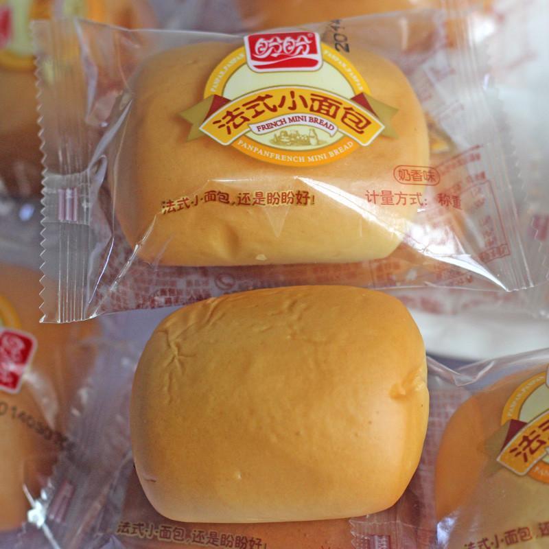 盼盼 法式小面包奶香味200g 烘烤糕点图片