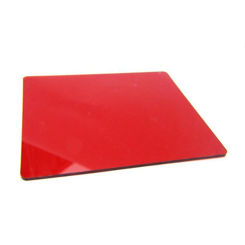 卓美zomei方形渐变镜全红全红色滤镜 p系列方形插片滤镜 全色镜 方片