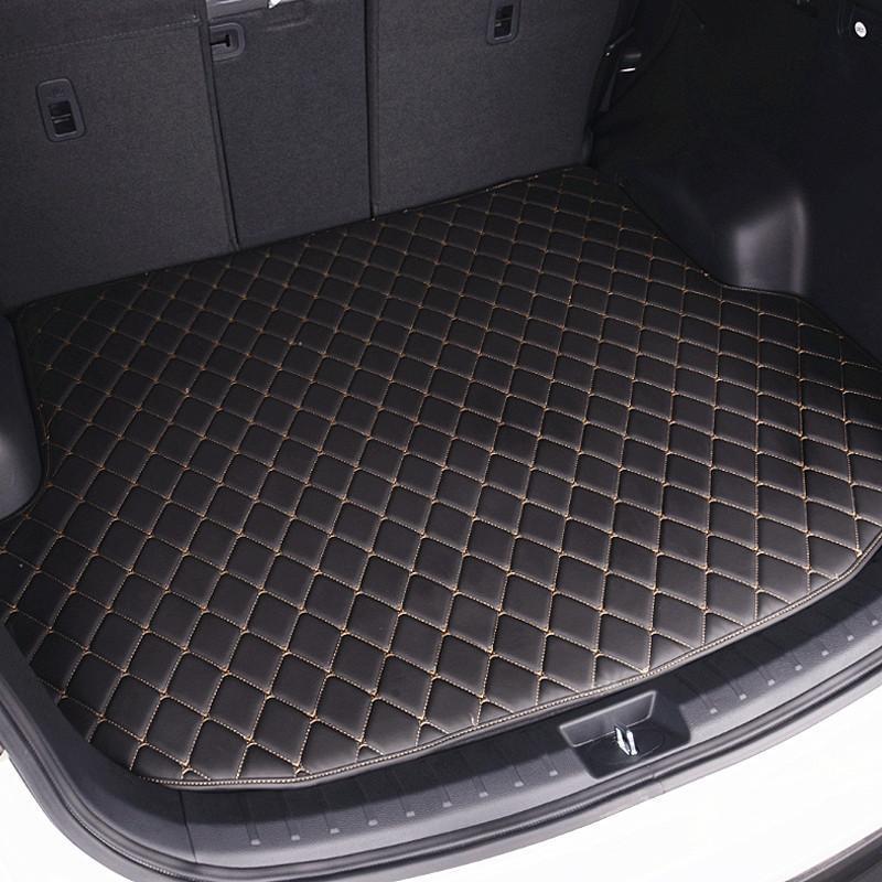 汽车后备箱垫新款hgb-t皮革大众丰田捷豹凯迪拉克后尾