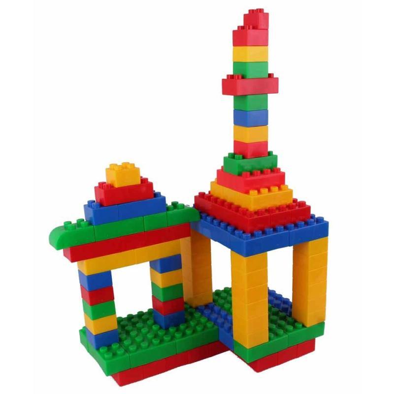 京奇乐高式方块积木 塑料拼插玩具 儿童拼装 宝宝益智玩具3岁以上