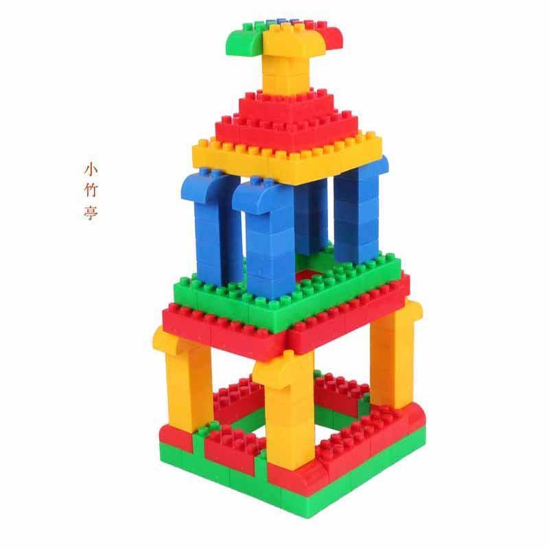 京奇乐高式方块积木 塑料拼插玩具