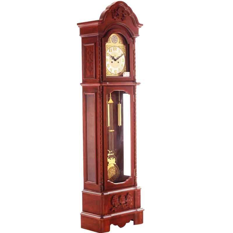 【北极星】北极星实木落地钟实木机械钟高档欧式复古