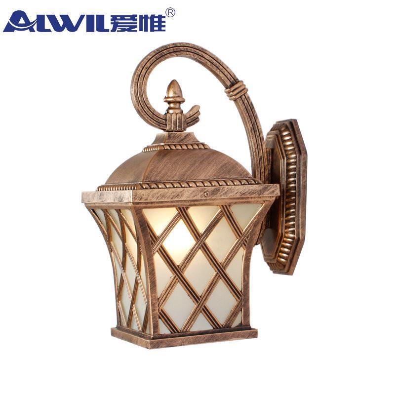 爱惟欧式现代户外壁灯庭院灯饰花园灯具简约创意景观