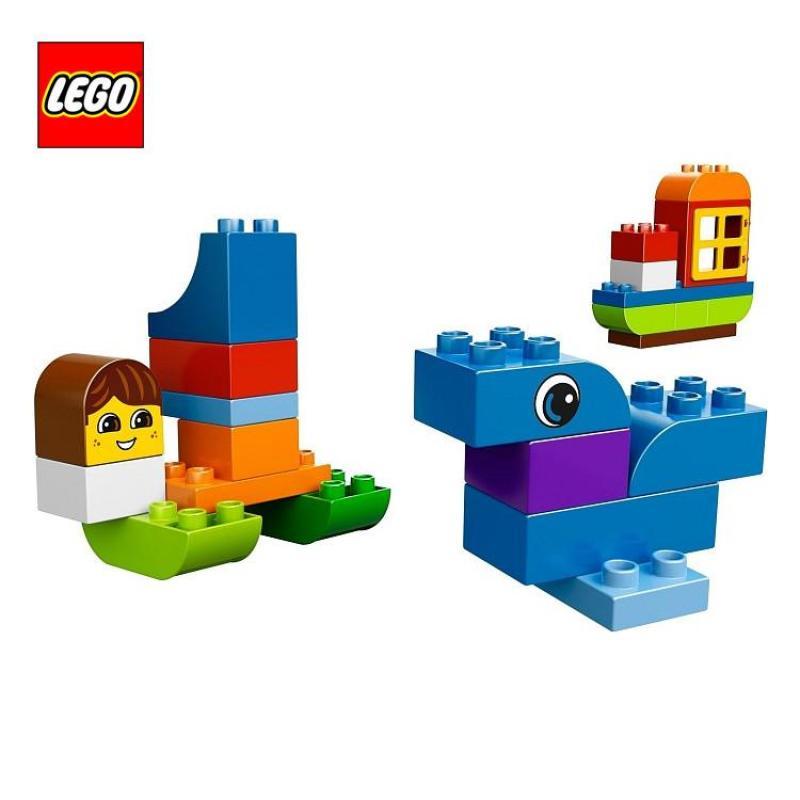 包邮乐高基础桶装积木得宝大颗粒l10557乐高拼装玩具