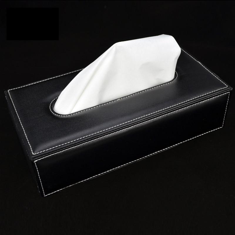 车载皮革纸巾盒
