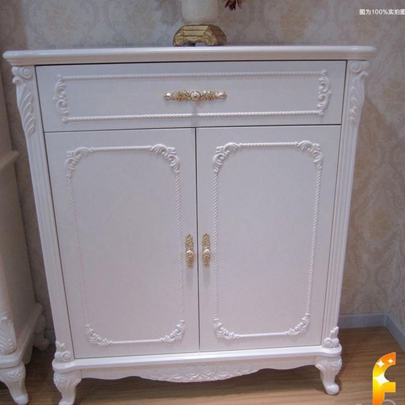 【法丽莎家居】法丽莎家具g1欧式鞋柜实木雕花储物柜