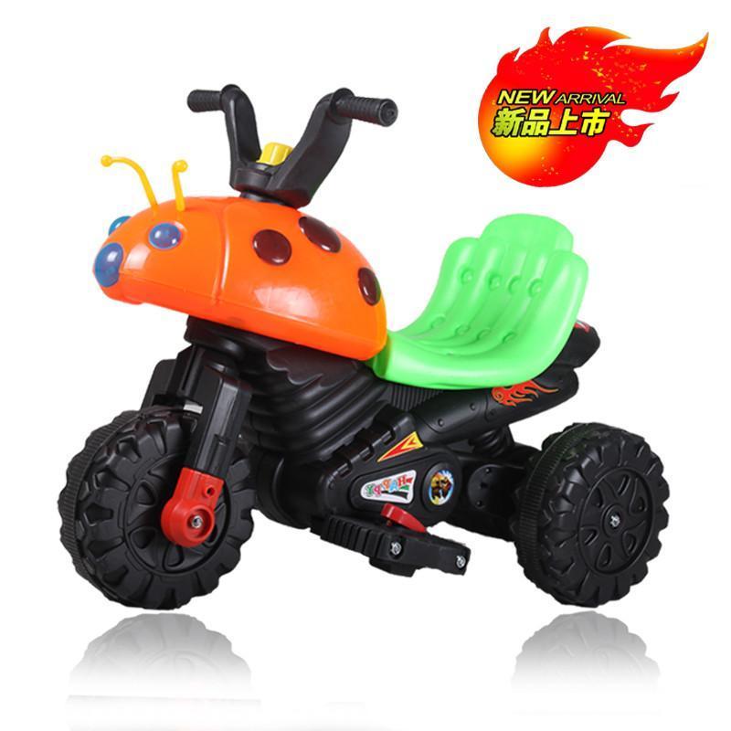瓢虫儿童电动车