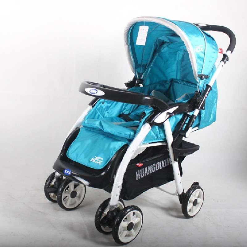 皇帝星686四季婴儿手推车可折叠可坐平躺双向推杆