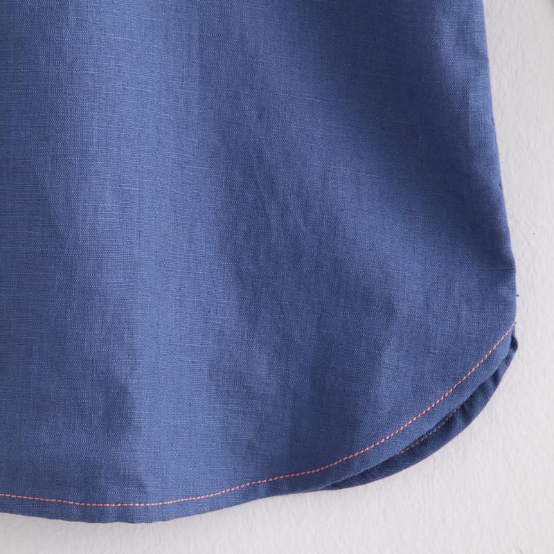 初语2014春季新款女装花纹刺绣文艺复古翻领长袖衬衫