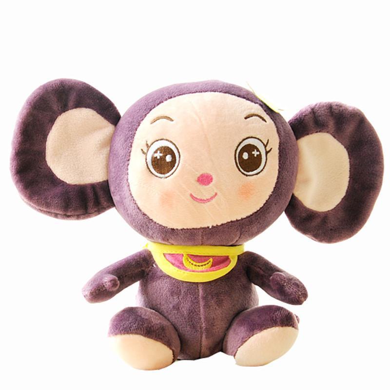 绒言绒语毛绒公仔可爱猴娃玩偶