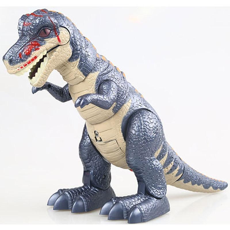 电动恐龙模型玩具霸王龙仿真暴龙侏罗纪公园正品眼睛