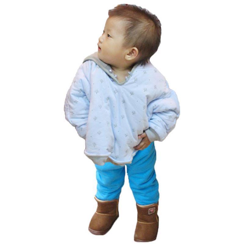叶子宝宝 秋冬三层夹棉两面穿婴儿披风/披肩/小斗篷