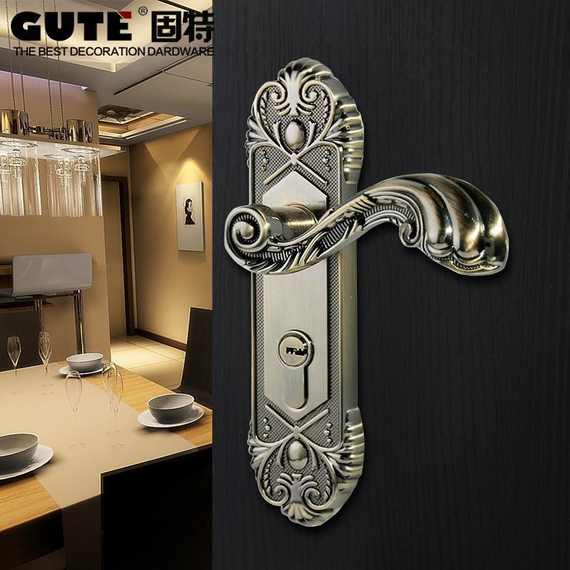 复古欧式室内房门锁
