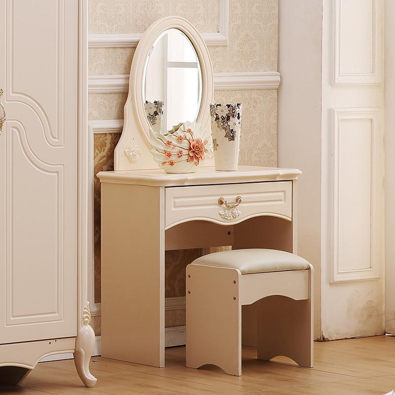 圣乔治欧式套房 婚床床头柜衣柜梳妆台妆凳成套