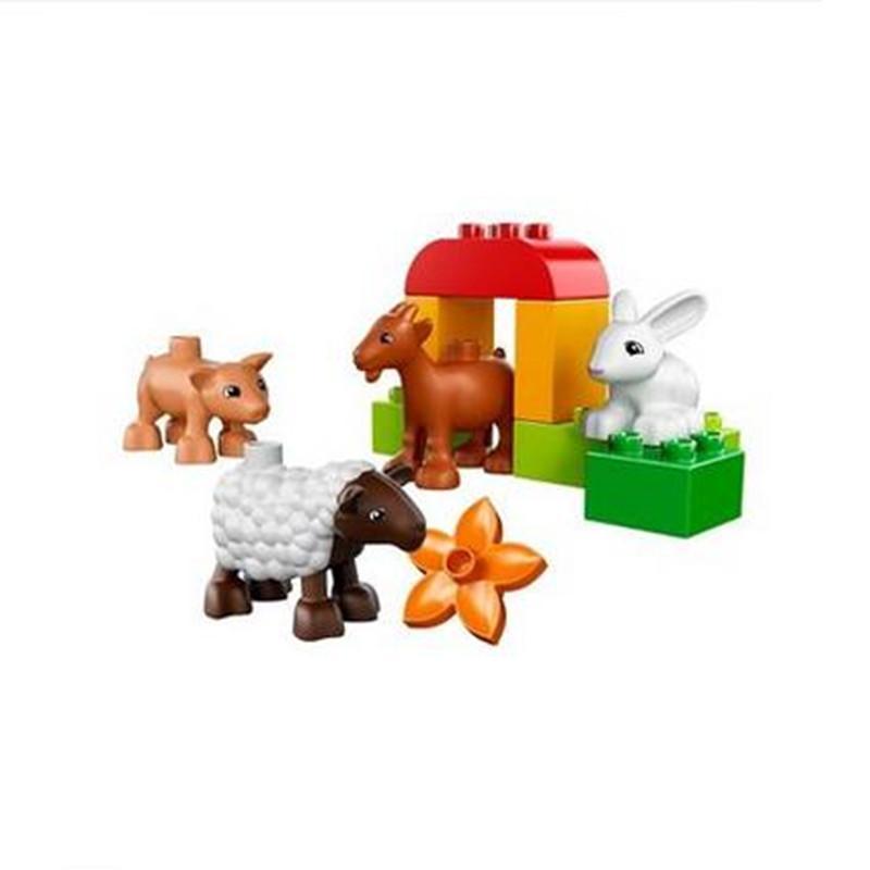 乐高小动物积木拼装图纸