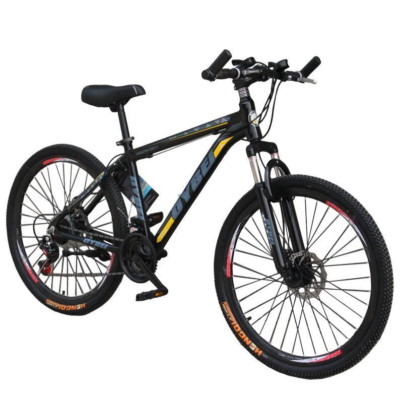 欧北自行车 26寸21速铝合金双碟刹山地车shimano变速
