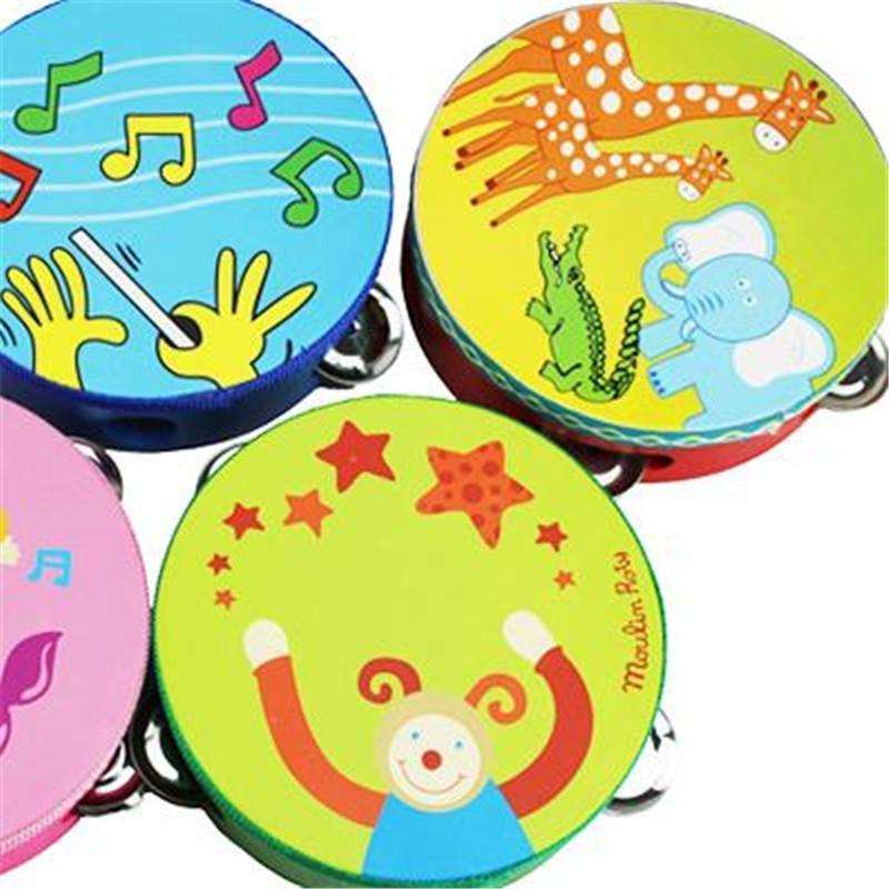 卡通手拍鼓 婴儿童乐器玩具