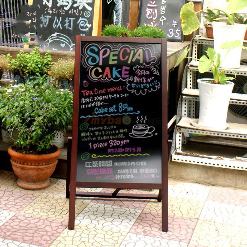 荧光笔粉笔磁性黑板信息展板奶茶店菜单黑板手写板上海黑板厂可定制