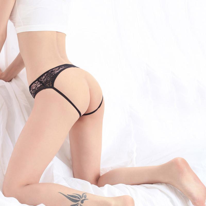 情趣内衣 开裆露pp蕾丝女士内裤1047