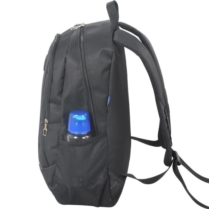 威豹双肩包男背包女休闲背包学生书包双背包旅行包 1661 黑色/橙色b图片