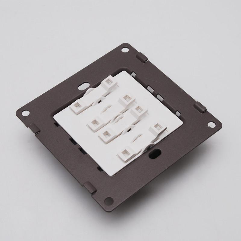 cdn西顿开关插座 四开单控d1-k041