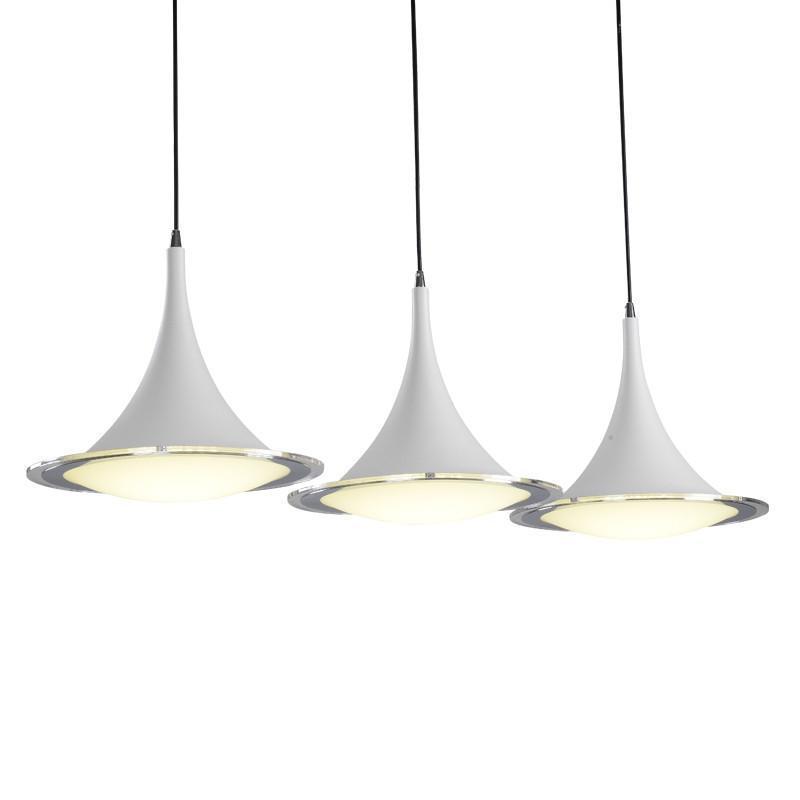 餐厅灯三头创意个性吊灯餐厅吊灯现代简约欧式灯具
