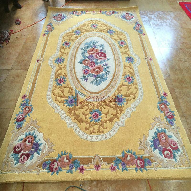 欧式手工地毯材质贴图