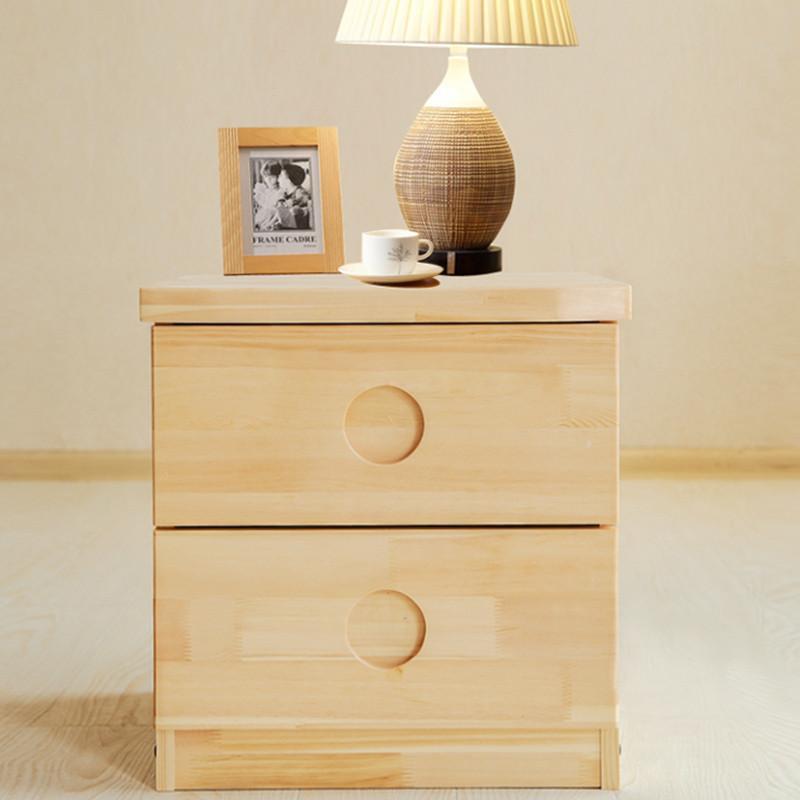 【家乐铭品】实木床头柜