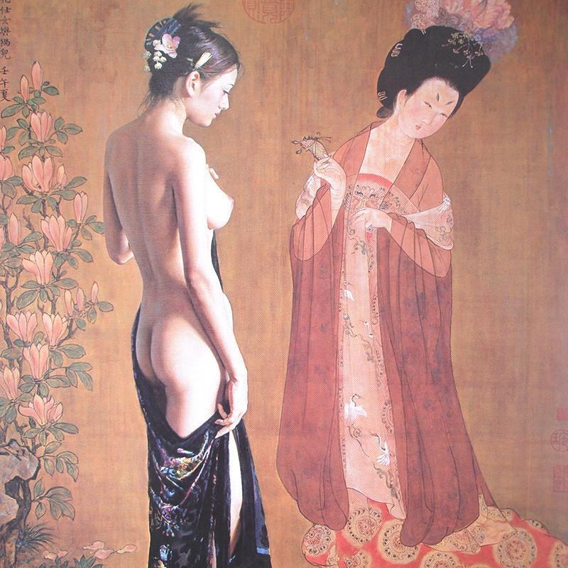 现代家居装饰画仿油画美女壁画酒店客厅无框画卧室床头画52款可选