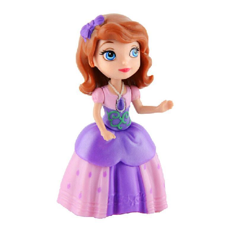 美泰正品迪士尼小公主苏菲亚之动物朋友y6640娃娃