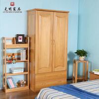 光明家具衣柜小儿童全实木整体大强力宜家衣平谷衣柜家具北京图片