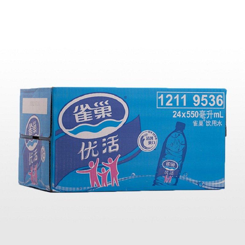 【苏宁易购超市】雀巢优活550ml*24瓶 箱装 纯净水