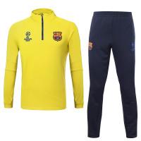 15-16欧冠圣日耳曼灰色男士世界杯球衣套装长