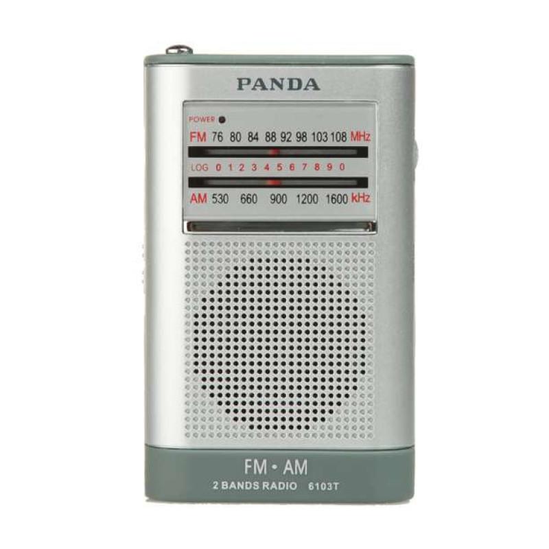 熊猫收音机6103T 高灵敏度调频调幅二波段