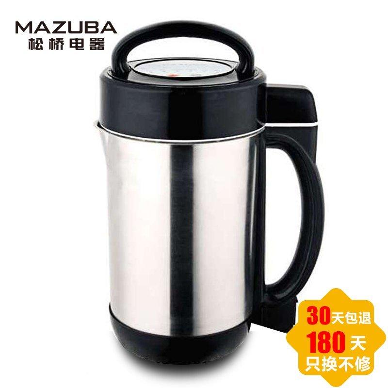 松桥(MAZUBA) 豆浆机 MS-PS0801 无网研磨 1.3L