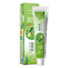 LG竹盐清新源清韵茶香牙膏150g