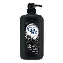 飘柔(Rejoice)家庭护理长效黑亮滋润洗发露洗发水750ml/瓶 宝洁出品