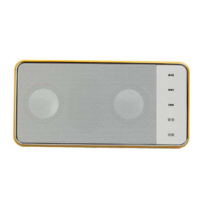 熊猫数码音响播放器DS-130 橙 插卡音箱 立体声收音机