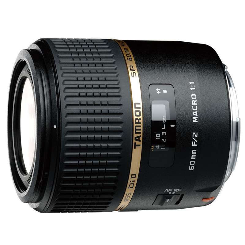 腾龙60mm F/2 Di-II LD IF 微距1:1佳能口